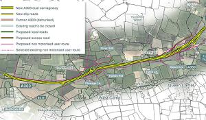 Scheme overview map